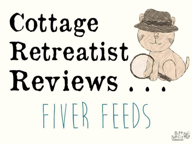 Review of FiverFeeds cheap recipe site - Cottage Retreatist